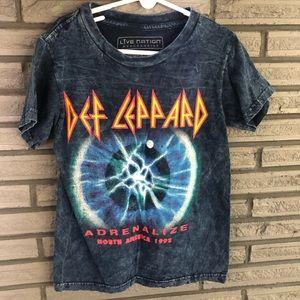 Def Leppard boys t-shirt